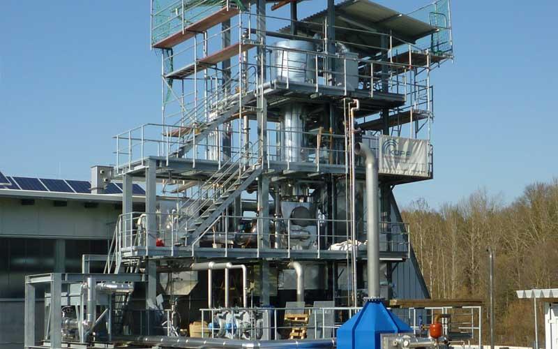 Die Kopf SynGas Klärschlammvergasungsanlage in Balingen