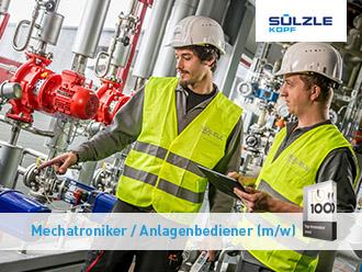 SÜLZLE KOPF SynGas sucht Mechatroniker / Anlagenbediener (m/w) in Koblenz