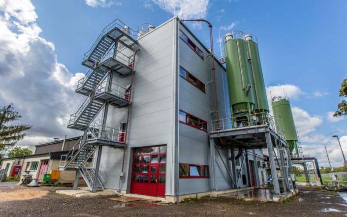 Die Kopf SynGas Klärschlammvergasungsanlage in Koblenz