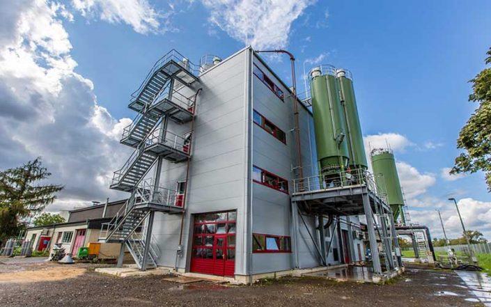 Sewage Plant in Koblenz by SÜLZLE KOPF SynGas