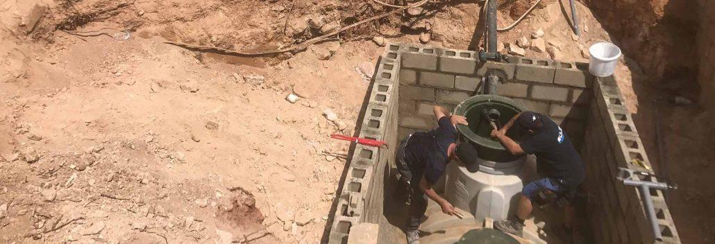 Mitarbeiter sorgt ehrenamtlich für sauberes Wasser in Afrika