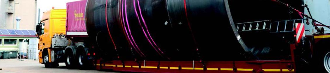 SÜLZLE KOPF Anlagenbau lieferte Anfang September 2017 einen neuen maßgeschneiderten Wasserschloss-Behälter