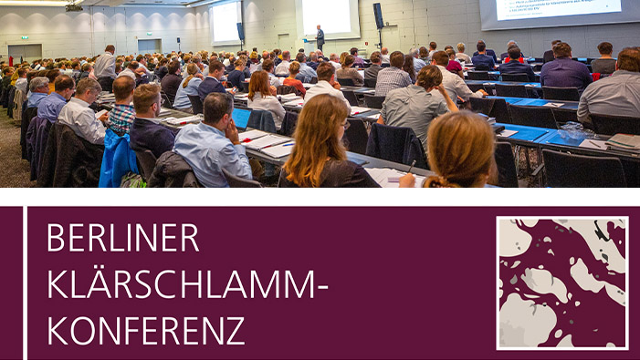 We are at the Klärschlammkonferenz in Berlin