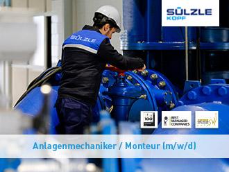 Foto von einem Anlagenmechaniker / Monteur (m/w/d)